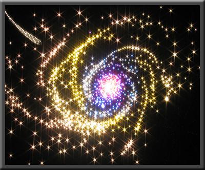 fiberoptisk belysning stjärnhimmel