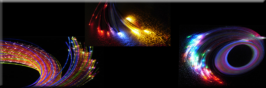 Optisk fiber belysning