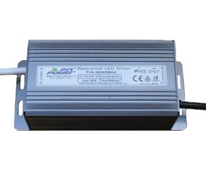 Leddriver/Nätdel 230VAC/36VDC 60W IP65