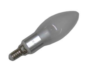 Ledlampa E14 3W Matt Varmvit Dimbar