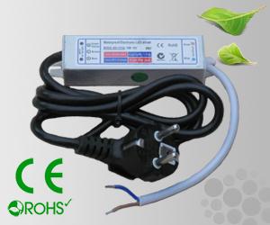 Leddriver/Nätdel 230VAC/12VDC 15W IP67
