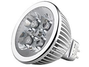 LED Spotlight 4x1W MR16 Varmvit