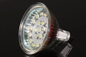 LED Spotlight SMD3528 MR16 Varmvit