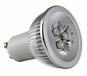 LED Spotlight 3x1W GU10 Varmvit