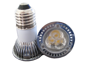 LED Spotlight 3x1W E27 JDR Varmvit