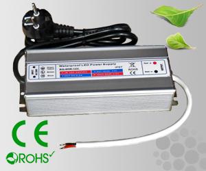 Leddriver/Nätdel 230VAC/12VDC 80W IP67