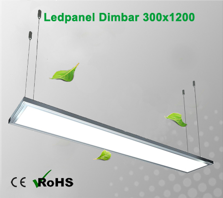 Led panel dimbar