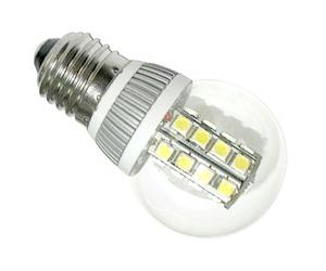 Ledlampa E27 3,8W Klar Varmvit