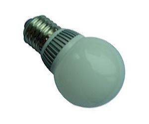 Ledlampa E27 3,8W Matt Varmvit