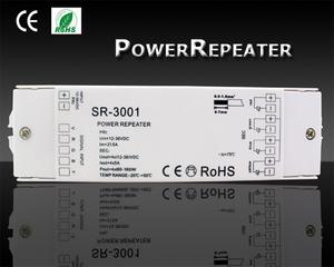 SR-3001 Power Repeater 4-kanaler
