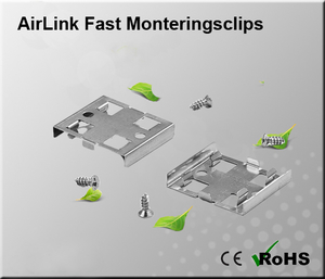 AirLink Fast Monteringsclips