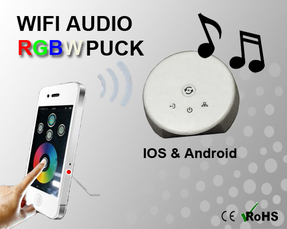 Wifi RGB/RGBW Puck/Kontroller IOS & Android