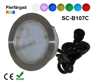 Deck/Floorlight Lampa 2W RGB