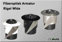 Fiberoptisk Downlight Armatur Rigel Wide