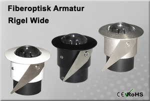 Fiberoptisk Downlight Armatur Rigel Wide
