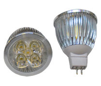 LED Spotlight 5x1W GU5,3 Varmvit