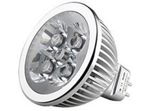 LED Spotlight 4x1W MR16 Varmvit