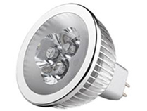 LED Spotlight 3x1W MR16 Varmvit