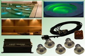 Fiberoptisk Pool / Spa belysningspaket