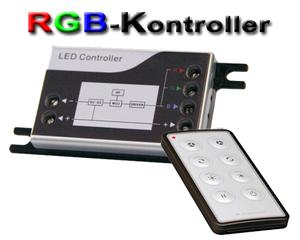 LED/RGB-kontroller med fjärrkontroll