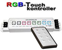 LED/RGB-Touchkontroller med fjärrkontroll
