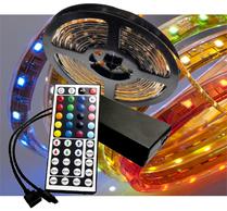 Ledtejp RGB DIY 7,2W/m el. 14,4W/m Fjärrk. Kit