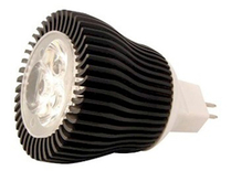 LED Spotlight 3x1W Varmvit