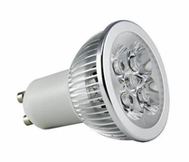 LED Spotlight 4x1W GU10 Varmvit
