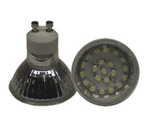 LED Spotlight SMD3528 GU10 Varmvit