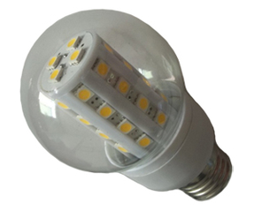 Ledlampa E27 6W Klar Varmvit
