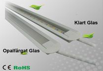 Ledlist i aluminium SMD5630 Infälld 0.5m