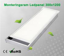 Monteringsram Ledpanel 300x1200