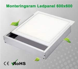 Monteringsram Ledpanel 600x600