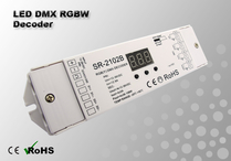LED DMX RGBW Decoder