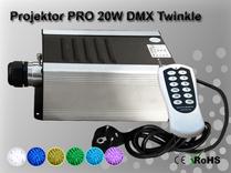 Fiberoptisk Ledprojektor 20W DMX Twinkle