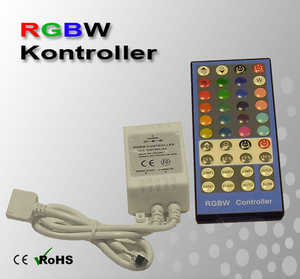 RGBW Kontroller 12-24VDC 6A