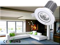 Dimbar COB Downlight Lampa Vit 10W