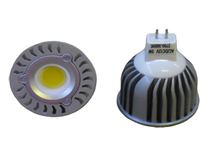 LED Spotlight COB 5W  GU5,3 Varmvit