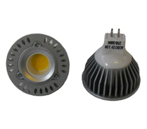 LED Spotlight COB 3,5W  GU5,3 Varmvit