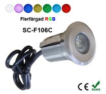 Inground Lampa 2W RGB