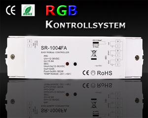 SR-1004FA RGB Mottagare 3x5A