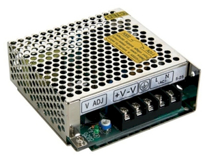 Leddriver/Nätadapter 230VAC/24VDC 2,5A 60W