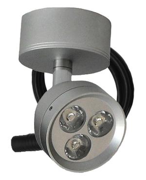 LED Spotlightarmatur 3x2W