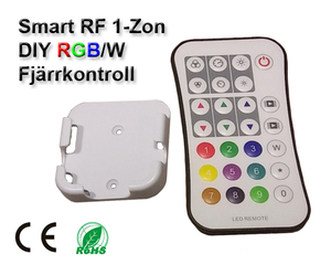 Wifi 2,4GHz RGB/RGBW Fjärrkontroll DIY