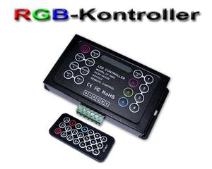 LED/RGB-kontroller DIY med fjärrkontroll