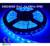 Ledtejp SMD5050 3in1 14,4W/m Blå Ljusfärg