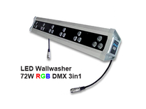 Led Wallwasher 230VAC 54W 3in1 RGB DMX