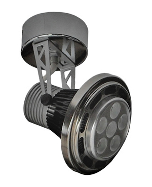 LED Spotlightarmatur 6x1W 6x3W