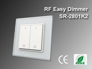 RF Easy Väggdimmer SR-2801K2 2-zon
