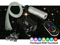 Stjärnhimmelpaket 6W RGB Touchpad 3,5kvm